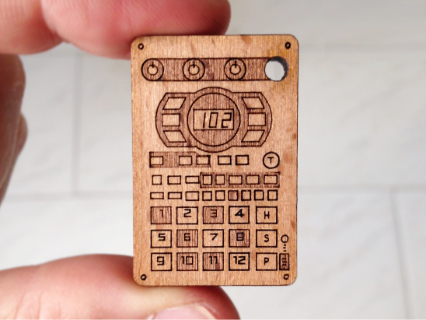 photo: Cremacaffè Design SP-404 Keychain