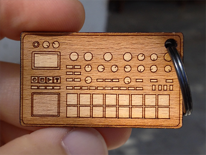 photo: Cremacaffè Design Electribe Keychain