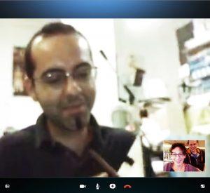 Giuseppe Morello | Skype call Sicily-Finland