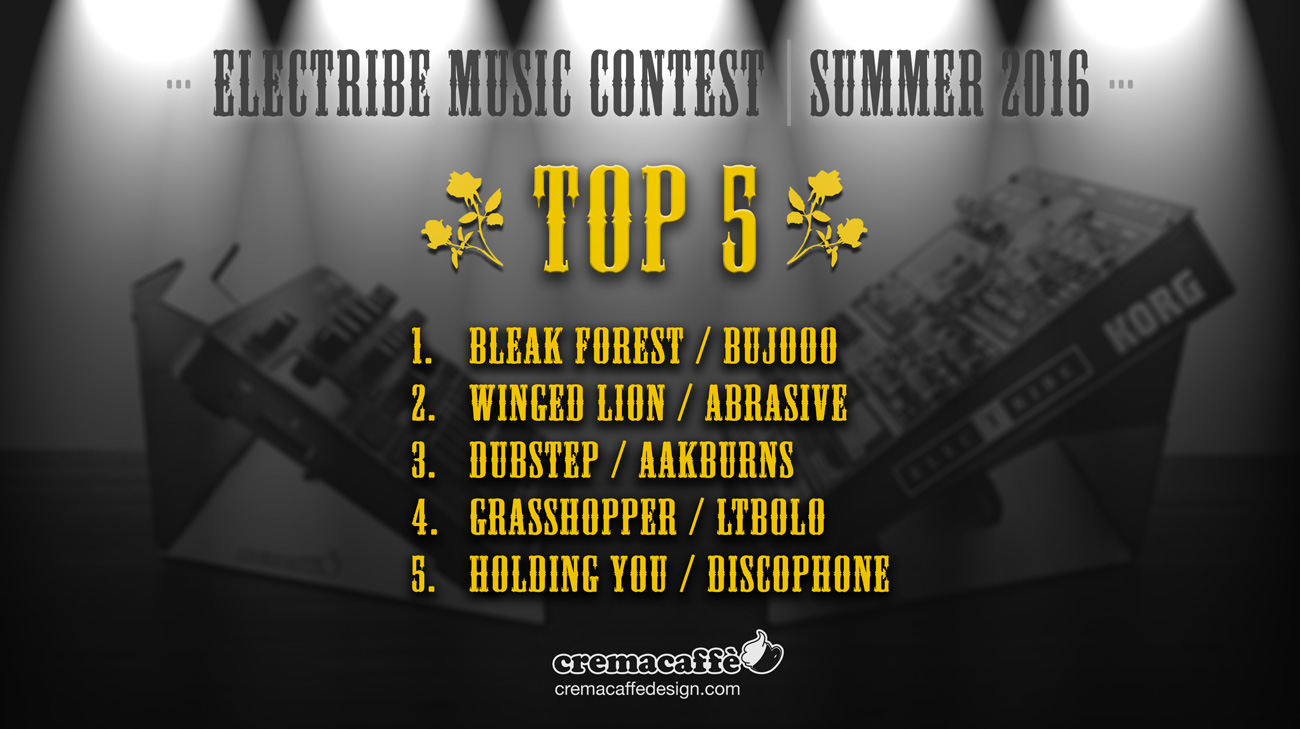 Make Great Electribe Music & Win Cremacaffè Design products! @cremacaffeshop #cremacaffedesign #electribe #summer #music http://cremacaffedesign.com/music-contest