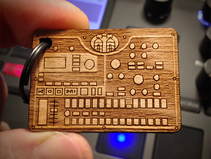 photo: Cremacaffè Design Electribe-MX Keychain