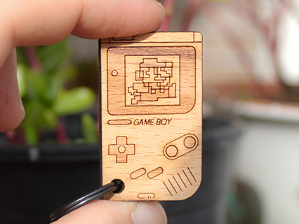 photo: Cremacaffè Design GameBoy Keychain