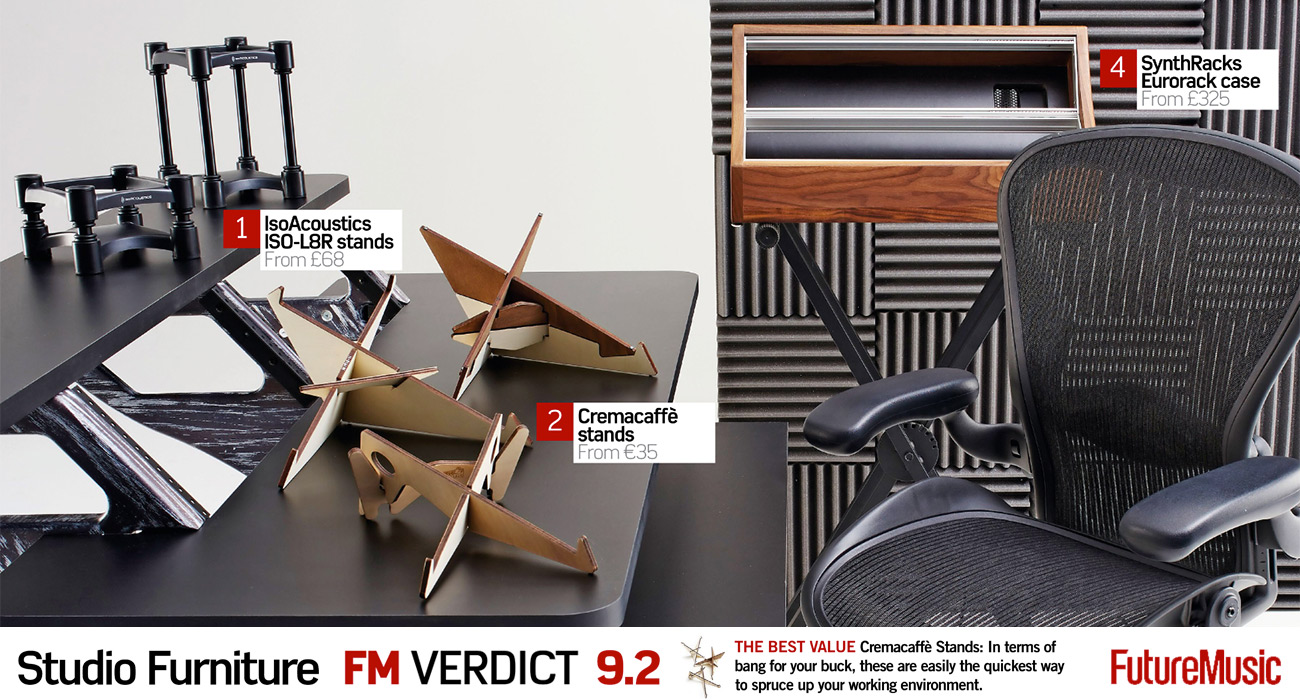 Cremacaffè Stands: BEST VALUE For Your Studio Furniture | Future Music Mag.    Cremacaffè Design Store
