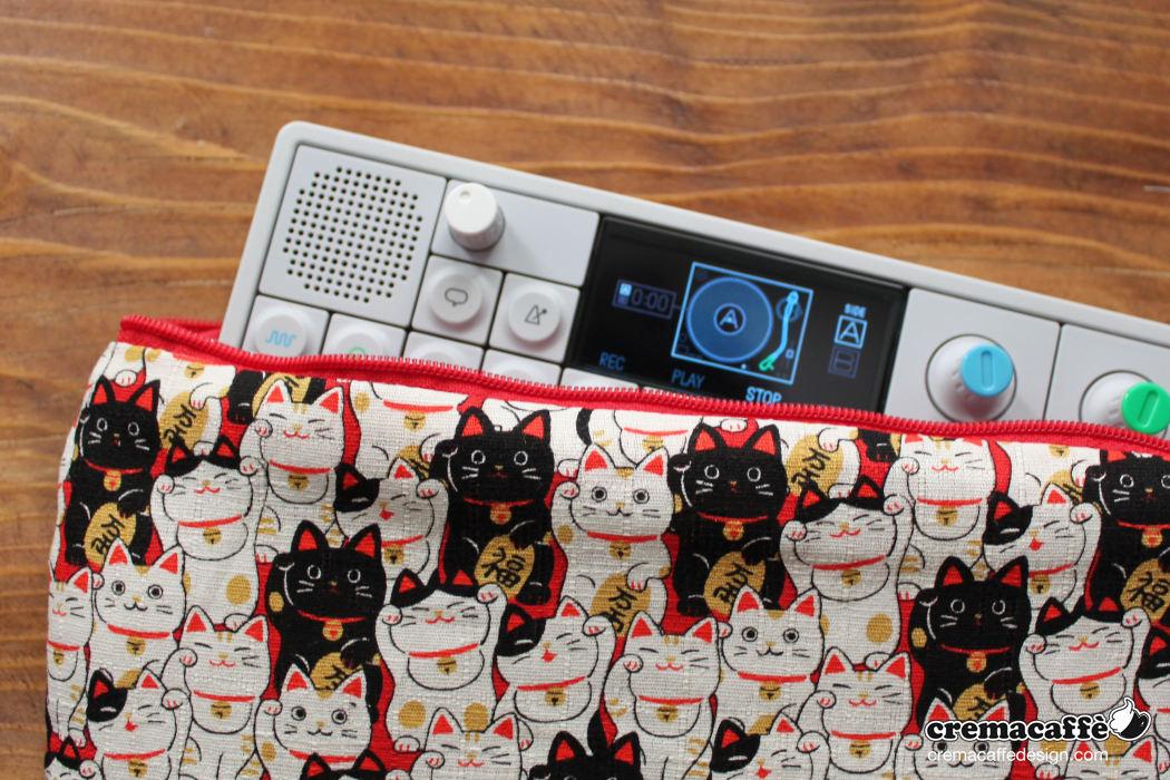 OP-Pouch: Lucky Cat | OP-1 traveller bag