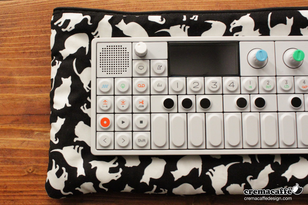 OP-Pouch: Space Cats | OP-1 traveller bag