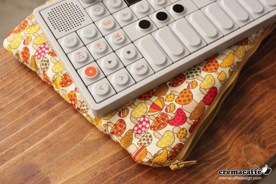 OP-Pouch: Super Mushroom | OP-1 traveller bag