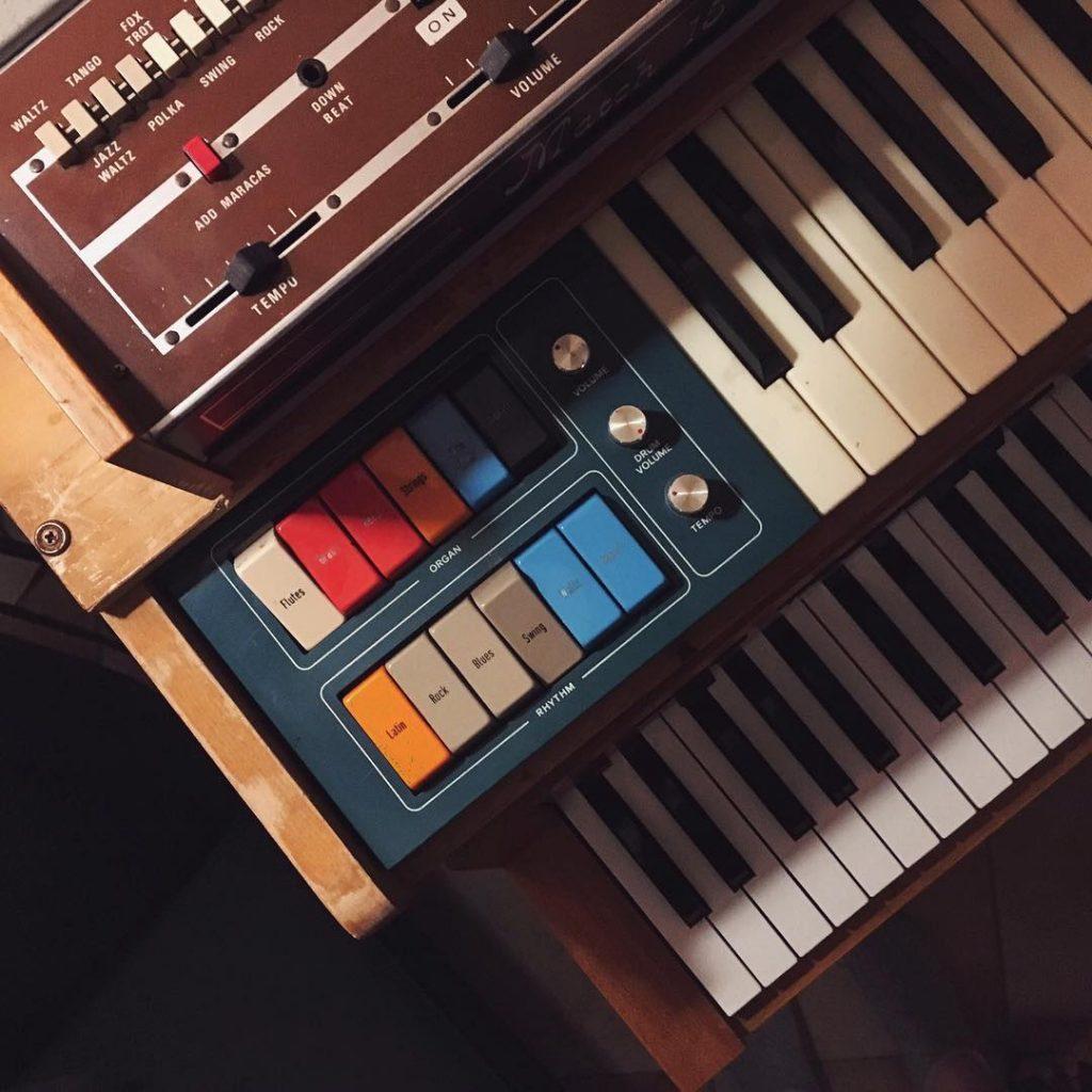 photo: Romy's vintage organs | Photo by Romy
