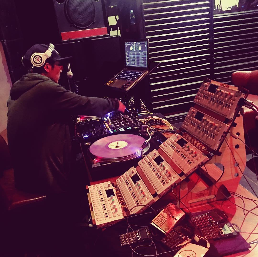 Photo: STEEEZO live @ Super Plume Radio - Tokyo, Japan