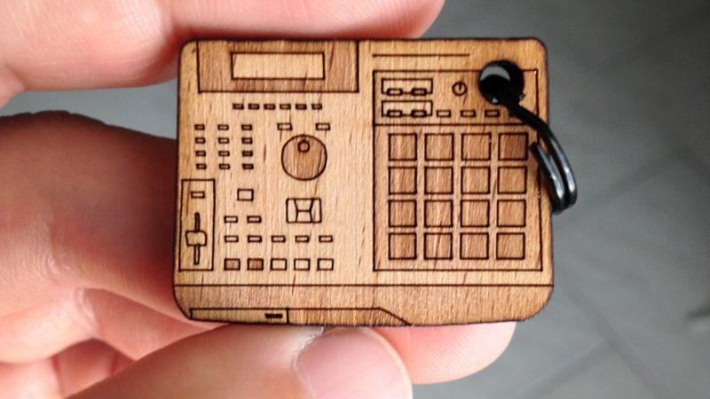 MPC2000XL Miniature Keychain