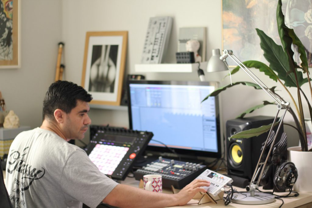 Müca in his studio. | Photo: Tamara Özer.