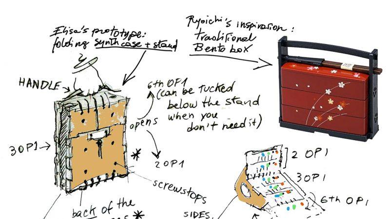Study for an OP-1 modular stand | part 3