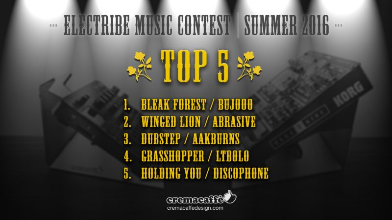 Announcing the Winners of the Electribe Music Contest | Summer 2016